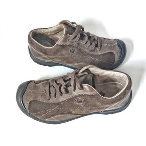 Keen Hiking Sneakers Lace up Brown 7